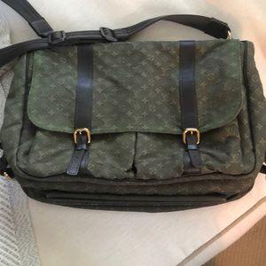 Louis Vuitton Sac a Langer Laptop/diaper bag